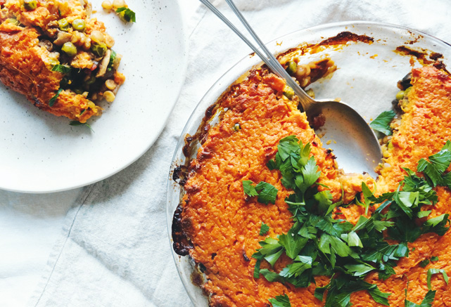 Try our delicious Split Pea Pie with Sweet Potato Topping Recipe