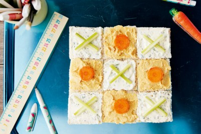 Try Lee Holmes' Noughts and Crosses Sandwiches Recipe