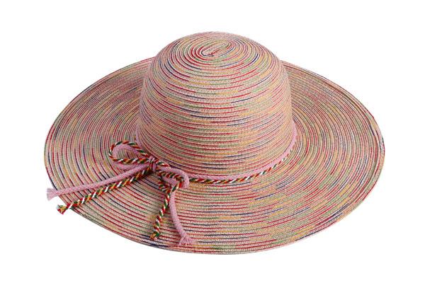 ladies rainbow floppy hat 600x400