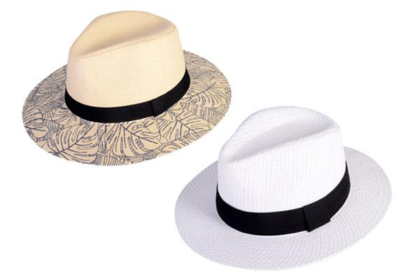 assorted panama hats