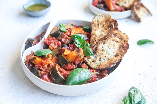 Try our nourishing Slow-Cooked Mediterranean Vegetables Recipe