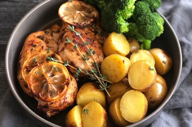 Try our delicious Slow-Cooked Lemon Chicken Recipe