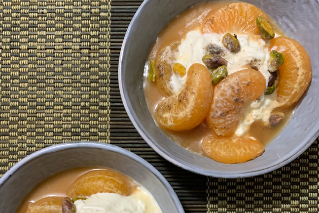 Try these delicious mandarin recipes from Fresh Max
