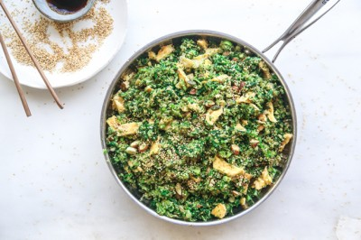 Try Jacqueline Alwill's delicious Stir-Fried Broccoli Rice Recipe