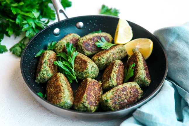 Try our delicious Greek inspired Vegetarian Cypriot Sausage