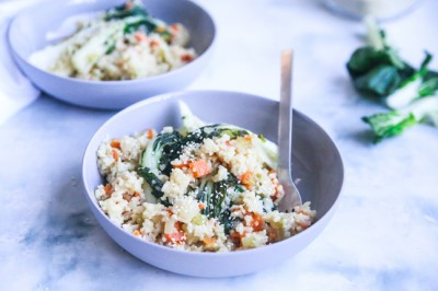 Try Jacqueline Alwill's Japanese-inspired Miso Vegetables Pilaf