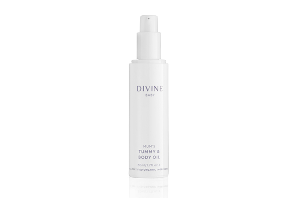 New Divine Baby Shopping Cart Images Mum's Tummy & Body Oil 600x400