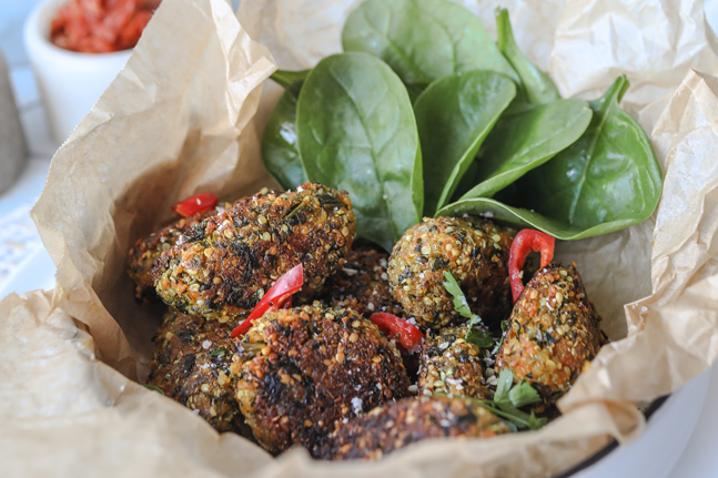 Try Keira Rumble's delicious Hemp and Quinoa Bites Recipe