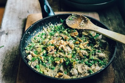 Try our delicious Hemp and Mushroom Risotto Recipe
