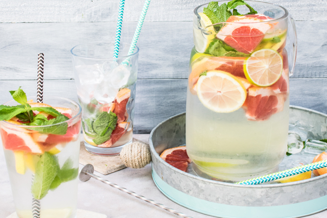Flavour-Infused Water Jars