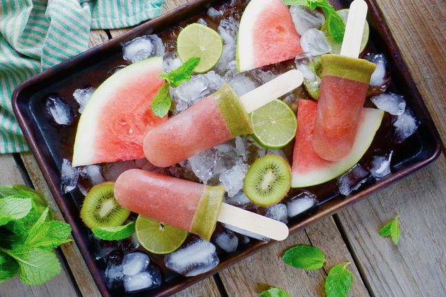 Watermelon Ice Blocks