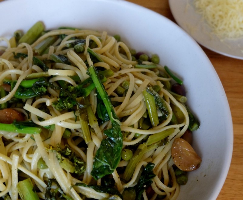Pasta Broccoli Rabe