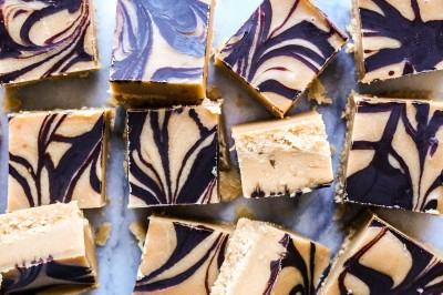 Peanut Butter Choc Swirl Fudge