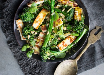 Charred Broccoli Rabe Salad