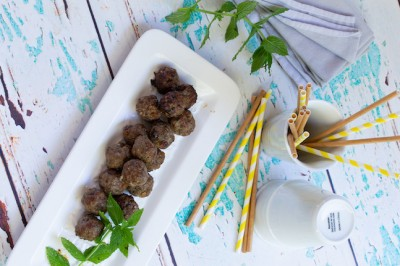 Lamb, Mint & Raisin Meatballs