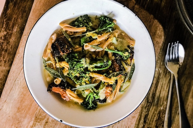 Broccoli Rabe With Casarecce Pasta
