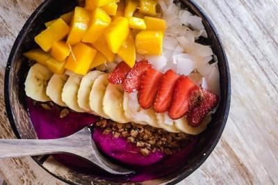 Red Dragonfruit Bowl