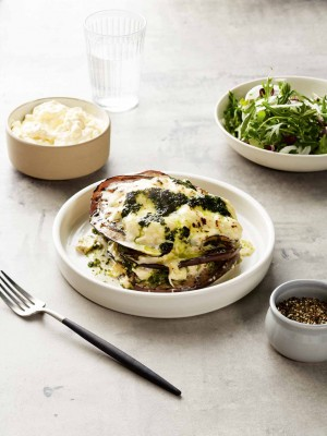 Eggplant Parmigiana Salad