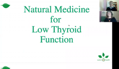 Natural Medicine For Low Thyroid Function