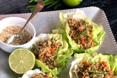 Vegan San Choy Bow