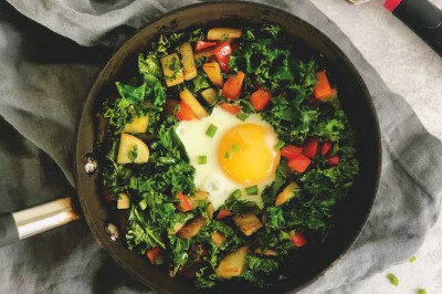 Potato Kale Hash
