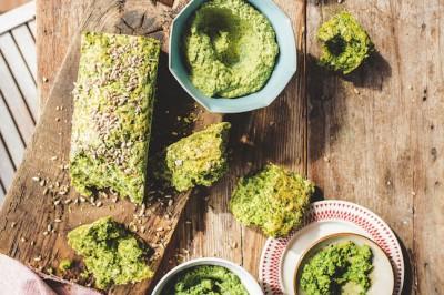 Pullapart Green Bread Pestos
