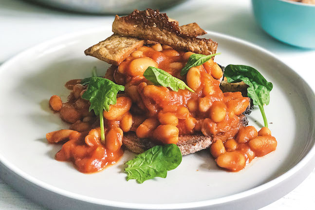English Baked Beans On Toast