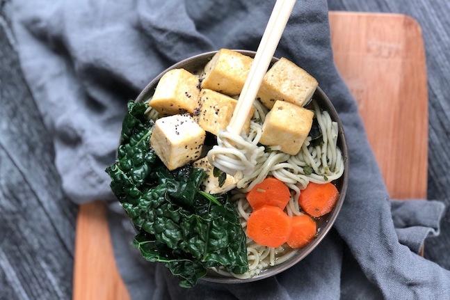 Immune-boosting Miso Ramen Soup