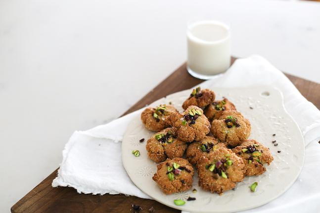 Maple Tahini Cookies