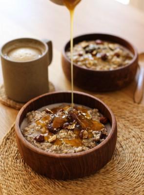 Sticky Date Pudding Porridge