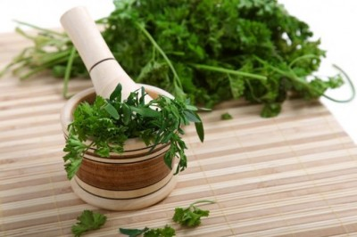 Cilantro for added flavour and some great health benefits