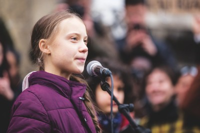 Greta Thunberg Joins Climate Protest Ahead Of Davos Summit