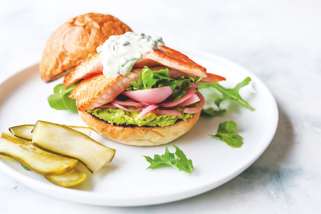 Fast, Healthy & Delicious Fish Burger
