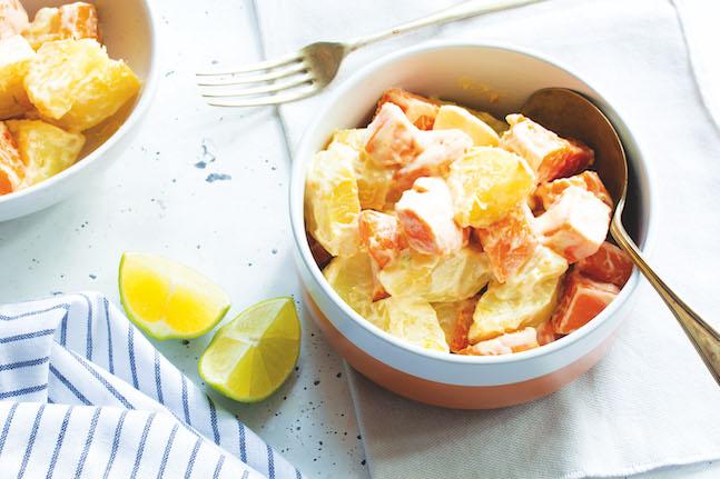 Jicama & Sweet Potato Salad