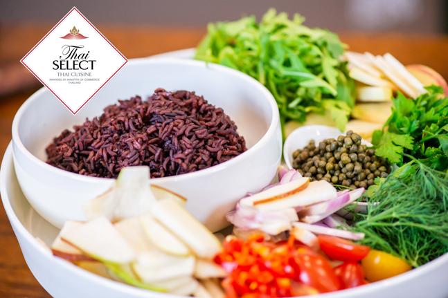 Riceberry Rice Salad