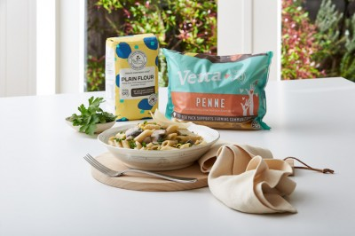 Zesty Herby Mushroom Pasta Product Spread