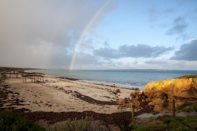 Chasing My Pot Of Gold On Streaky Bay's Perlubie Beach