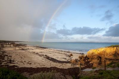 Chasing My Pot Of Gold On Streaky Bay's Perlubie Beach