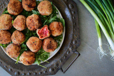Beetroot and Feta Croquette Appetiser Recipe