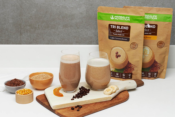 Herbalife Nutrition Tri Blend Select Protein Shake Mix