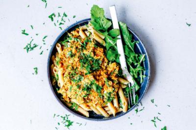Chickpea Pasta With Nomato Sauce Recipe