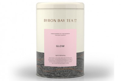 Glow Teabag Tin Byron Bay Tea Company