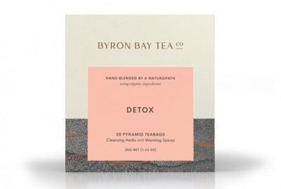 Detox Teabag Box Byron Bay Tea Company