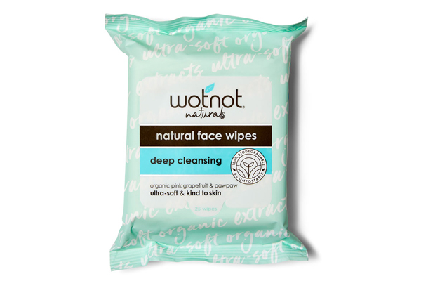 600x400 Wotnot Facial Wipes Deep Cleansing