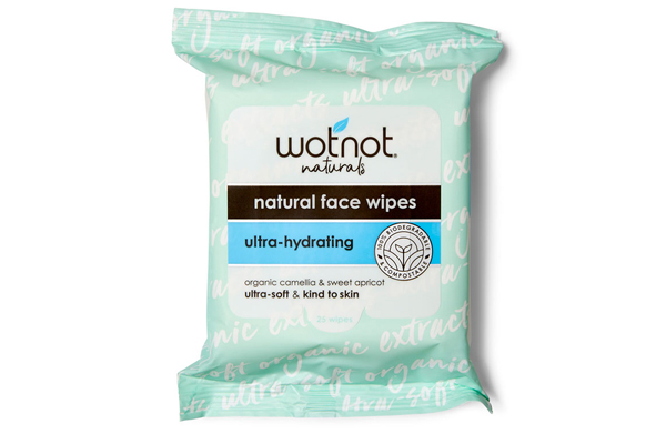 600x400 Wotnot Facial Wipes Ultra Hydrating