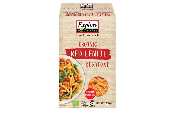 600x400 Red Lentil Rigatoni