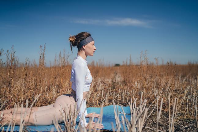 Yoga to balance the yin and yang