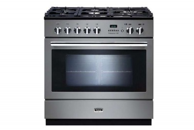 600x400 Falcon Professional Fxp 90cm Dual Fuel Range Cooker Stainless Steel And Chrome Prop90fxpss Ch With Slate 615x615