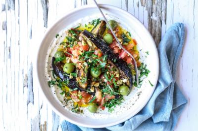 Ricotta With Eggplant Olives & Tomato Recipe