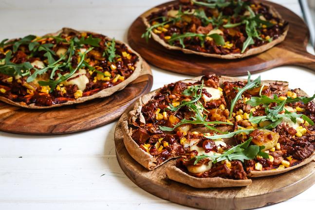 BBQ Jackfruit Pizza Recipe